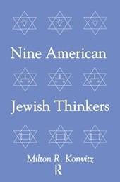 Nine American Jewish Thinkers