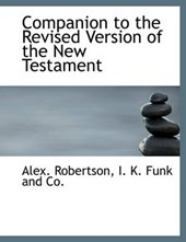 Companion to the Revised Version of the New Testament