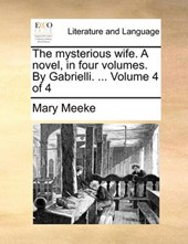 The Mysterious Wife. a Novel, in Four Volumes. by Gabrielli. ... Volume 4 of 4