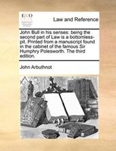 John Bull in His Senses