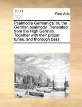 Psalmodia Germanica