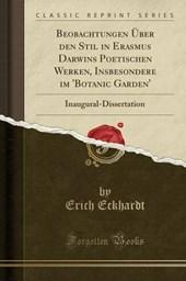 Eckhardt, E: Beobachtungen Über den Stil in Erasmus Darwins