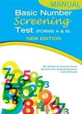 Basic Number Screening Test Manual