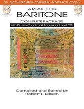 Arias for Baritone - Complete Package
