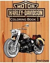 Motor Harley-davidson Coloring Book