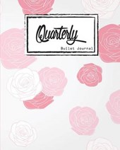 Quarterly Guided, Pink Rose Rose Apple Notebook