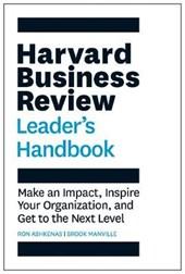 Hbr leader's handbook
