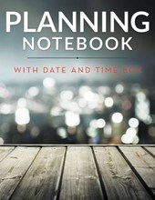 Planning Notebook with Date and Time Box
