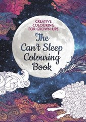 Can't Sleep Colouring Book