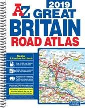 Great Britain Road Atlas 2019 (A4 Spiral)