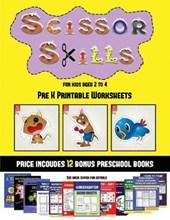 Pre K Printable Worksheets (Scissor Skills for Kids Aged 2 to 4)