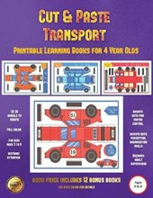 Printable Learning Books for 4 Year Olds (Cut and Paste Transport)