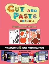 Scissor Cutting Practice (Cut and Paste Animals)