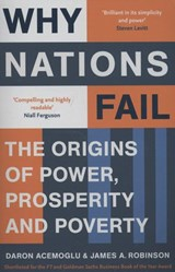 Why nations fail | Daron Acemoglu ; James A. Robinson |