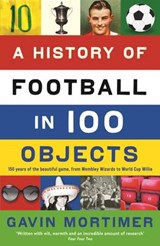 A History of Football in 100 Objects   Gavin (author) Mortimer  