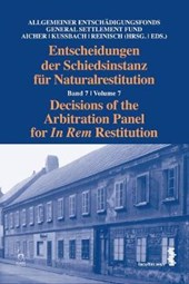 Decisions of the Arbitration Panel for in Rem Restitution