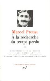 À la recherche du temps perdu. Tome III | Proust, Marcel |