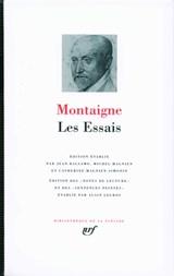 ESSAIS. NOUV. ED. PLEIADE   M. Montaigne  