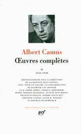 Oeuvres Completes 2   Albert Camus  