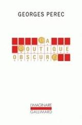 BOUTIQUE OBSCURE | G. Perec |