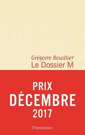 Prix Décembre 2017 voor Grégoire Bouillier