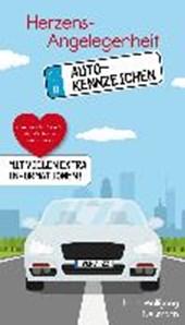 Herzensangelegenheit Autokennzeichen