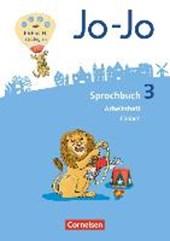 Jo-Jo Sprachbuch 3. Schuljahr - Allgemeine Ausgabe - Arbeitsheft Fördern
