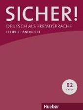 Sicher! B2. Paket Lehrerhandbuch B2/1 und B2/2
