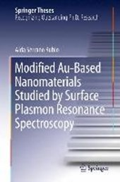 Modified Au-Based Nanomaterials Studied by Surface Plasmon Resonance Spectroscopy