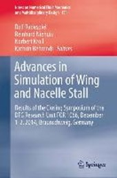 Advances in Simulation of Wing and Nacelle Stall
