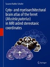 Cyto- and Myeloarchitectural Brain Atlas of the Ferret (Mustela putorius) in MRI Aided Stereotaxic Coordinates