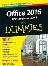 Office 2016 fur Dummies Alles-in-einem-Band