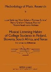 Musical Listening Habits of College Students in Finland, Slovenia, South Africa, and Texas