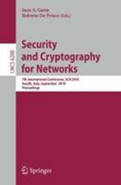 Security and Cryptography for Networks