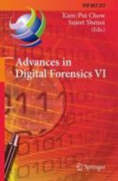 Advances in Digital Forensics VI