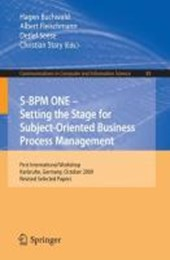 S-BPM ONE: Setting the Stage for Subject-Oriented Business Process Management