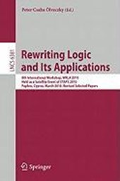 Rewriting Logic and Its Applications