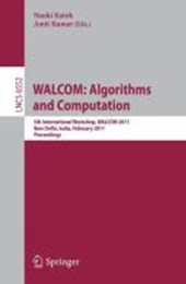 WALCOM: Algorithms and Computation
