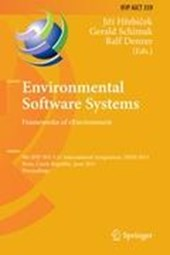 Environmental Software Systems. Frameworks of eEnvironment
