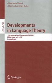 Development in Language Theory