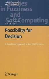 Possibility for Decision
