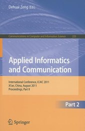 Applied Informatics and Communication, Part II