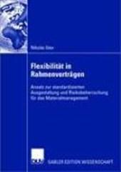 Flexibilitat in Rahmenvertragen