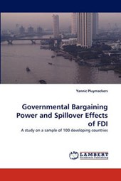 Governmental Bargaining Power and Spillover Effects of FDI