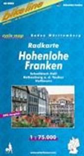 Hohenlohe Franken fietskaart