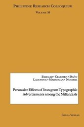 Persuasive Effects of Instagram Typographic Advertisments among the Millennials