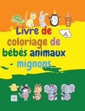 Livre de coloriage de bebes animaux mignons