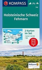 Kompass WK740 Holsteinische Schweiz, Fehmarn