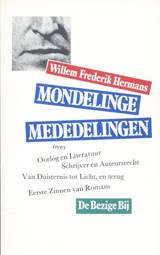 Mondelinge mededelingen | Willem Frederik Hermans |