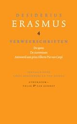 Verweerschriften   Desiderius Erasmus  